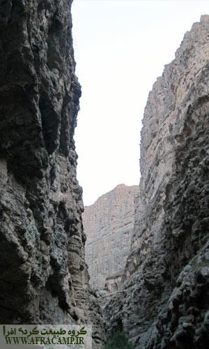 صخره های بلند دره شمخال