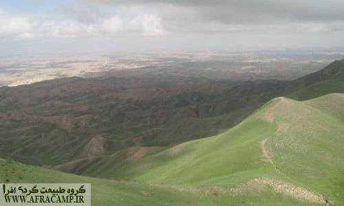 قدم زدن روی این تپه ها با این مناظر زیبا را از دست ندهید