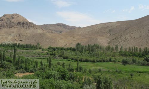 Harandeh thanks to the lush valley surrounding Nimrod