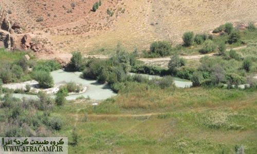رود نمرود در پیچ و تاب از البرز به سمت پیوستن به حبله رود و راهی گرمسار