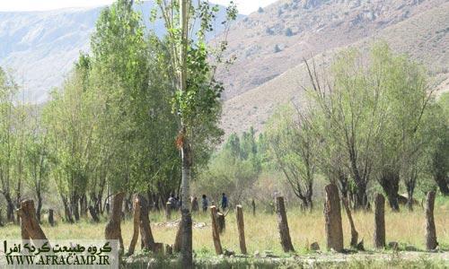 طبیعت تابستانی روستای هرانده