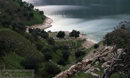 ساحل سید احمد و کمپ گردشگران نوروزی