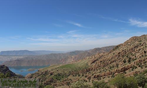 مناظر آنسوی کوه جَلّا