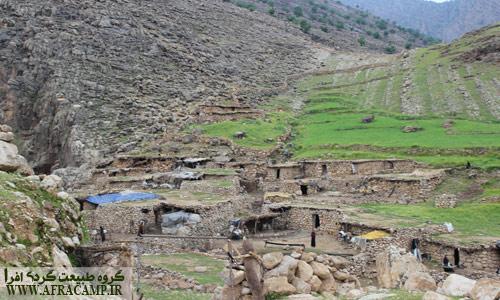 روستاهای کوچک و فقیر دره شلا