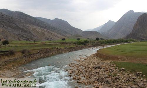 ابتدار دره شلا، ورودی رودخانه به دریاچه سد شهید عباسپور