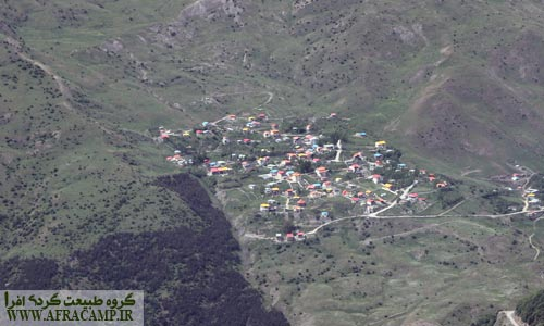 تماشای روستاها از بالا لذت بخش است