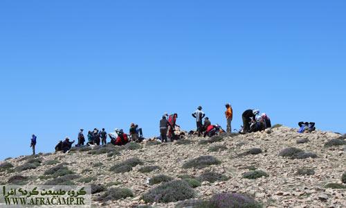 قله شلوغ درفک در ارتفاع 2710 متری