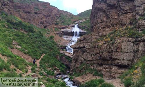 ابتدای آبشار دریوک