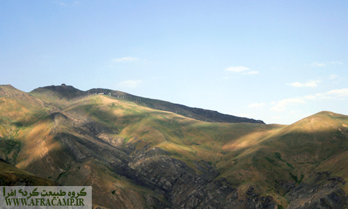 نمایی از کوه سیچال که با نام پیست اسکی دیزین پیوندی دیرین دارد.