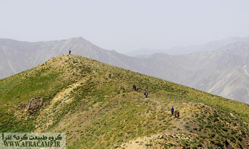 قله دوم با ارتفاع 3704