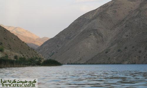 غروب دریاچه گهر