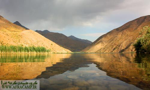 آرامش دریاچه گهر(شهریور ماه)