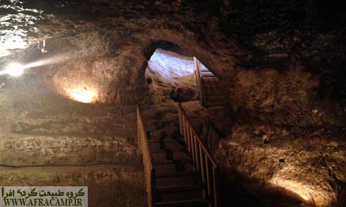 بهسازی ورودی های غار