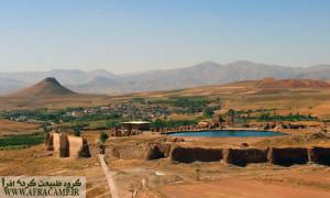تخت سلیمان میراث جهانی ایرانیان(تکاب، استان آذربایجان غربی)