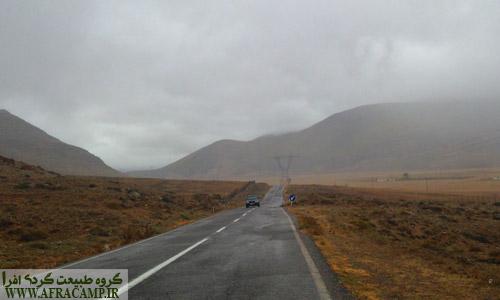 جاده کجور به کدیر