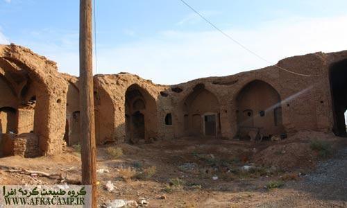 قلعه تقی آباد که هنوز اهالی از آن استفاده می کنند