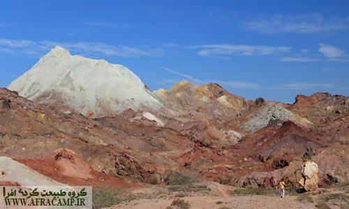 کوه رنگین کمان مقصد بعدی ماست که واقعا چشم نواز است
