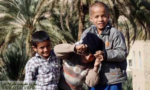 محمد، امیرعلی و محمد حسین، بچه های بازیگوش نایبند