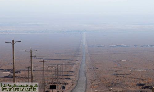 جاده فرعی روستای اسفندیار