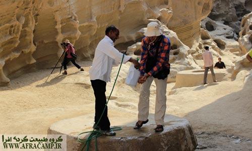 چاه های آب چاه کوه که قدمت آن به دوران باستان می رسد