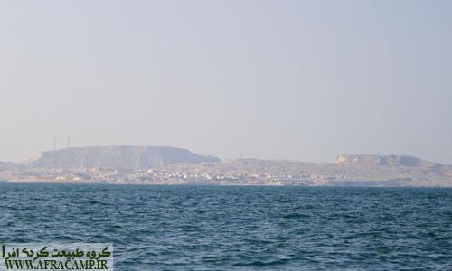 جزیره هنگام از اسکله کندالو