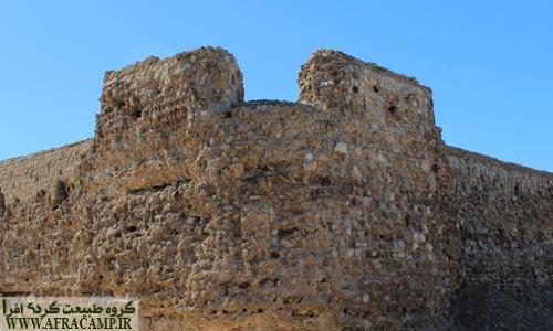 نمای بیرونی قلعه پرتغالیها