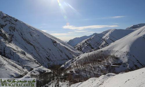 روز زمستانی و آفتاب دلنشین
