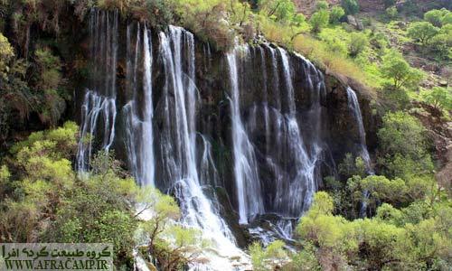 آبشار پر غرور شوی