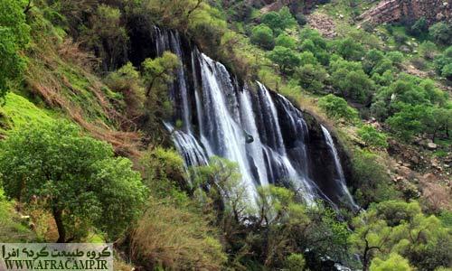 آبشار شوی را با نام تله زنگ نیز می شناسند.