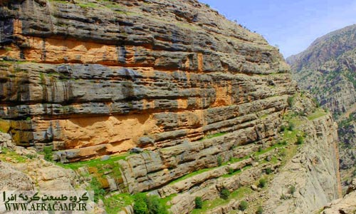 شکل های خاص صخره بالای دژپارت