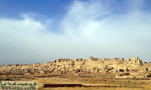 قلعه ایزدخواست از دوران ساسانیان