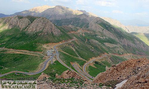 تقاطع جاده مریوان و اورامان