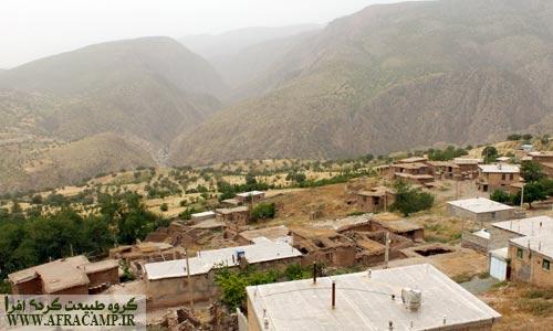 روستای کم جمعیت تفین