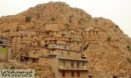 معماری خاص مناطق کوهستانی