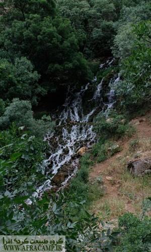 چشمه سار ها و آبشارهای بالا دست ده پالنگان