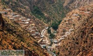در مسیر پالنگان(کامیاران، استان کردستان)