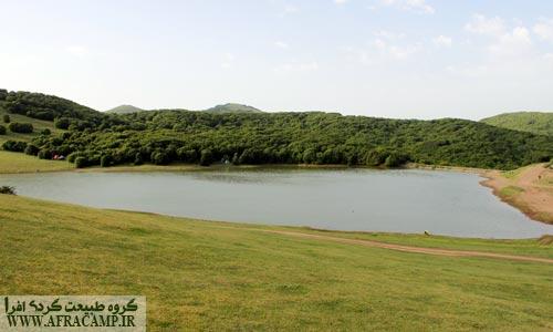 دریاچه سوها زیبا و آرام