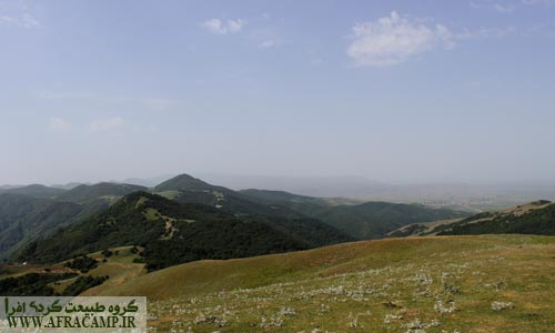 ارتفاعات مرز بین دو استان