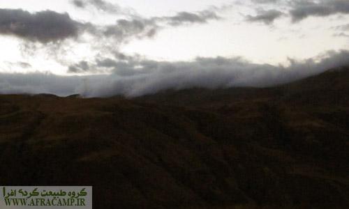 ابرها از آن سوی کوه می آیند...