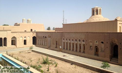 مجموعه در حال مرمت خانه حاج آقا علی
