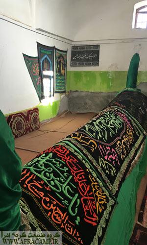 مقبره خواجه مهدی که اسم رایج این منطقه از اینجا آمده.