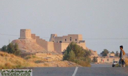 دورنمای قلعه سه کوهه