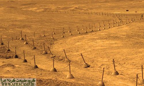 مسیرهای پیاده در بین سایت های باستانی