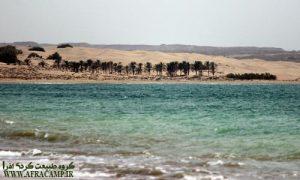 ساحل درَک زرآباد و گل فشان تنگ(شهرستان کنارک، استان سیستان و بلوچستان)
