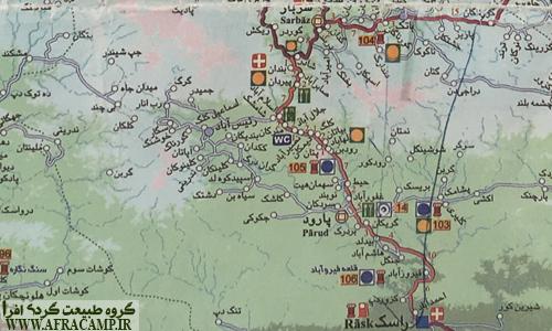 عکس از نقشه هرستان سرباز، برای دیدن در ابعاد بزرگ بر روی عکس کلیک کنید.