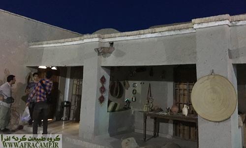 فضای بیرونی موزه سرباز