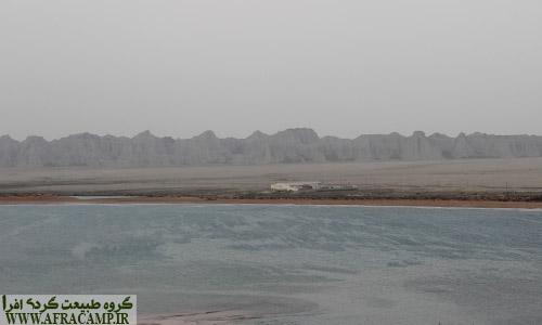 مناظر بالای صخره روستای بریس