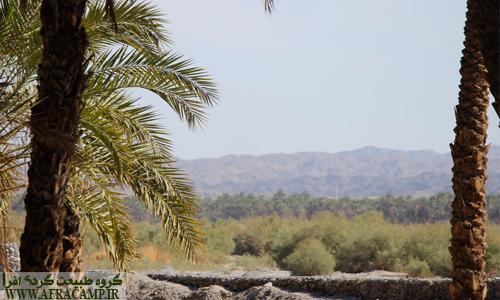 روستای دامن یکی از روستاهای زیبای ایرانشهر