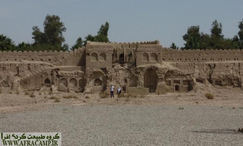 فضای داخلی قلعه ناصری