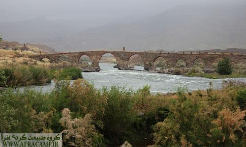 پل تاریخی ارس در شهرستان خداآفرین